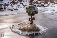 Rock piles become man's meditative art | GrindTV.com