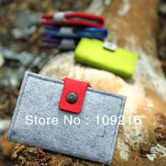 2087 solid color felt card case card stock credit bag fashion lovers fashion card holder on AliExpress.com. 5% off $7.62
