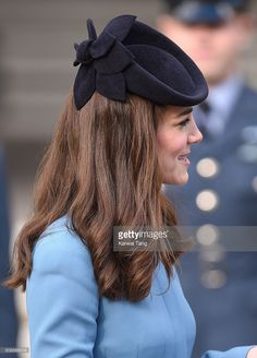 Catherine, Duchess of Cambridge attends the 75th anniversary of the RAF Air Cadets at St Clement Danes Church on February 7, 2016 in London, England. (Photo by Karwai Tang/WireImage)