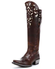 Ariat Women's Hacienda Boot - Vintage Caramel
