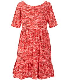 Copper Key Little Girls 46X Knit Peasant Dress #Dillards