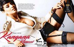 Kangana Ranaut sizzles on the GQ India Magazine October 2014 Cover_1