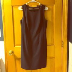 Navy Dress - size 6 INC International Concepts Great work dress for all seasons - fits great at the waist - size 6 - Navy Blue INC International Concepts INC International Concepts Dresses Midi