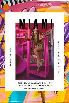 the solo traveler's guide to Miami Beach Florida, where to stay luxury hotel Miami Beach, Miami Beach travel guide, where to eat in Miami Beach, what to pack for Miami, black girl in luxury Miami Girl Guides, What To Pack, Beach Travel, Miami Beach, Travel Guide, Florida, Group, Luxury, Eat