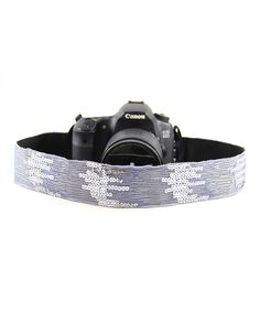 Capturing Couture Periwinkle Ombré Sequin Camera Strap