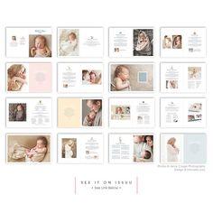 Newborn Magazine Template - Newborn Photography Magazine Template ...