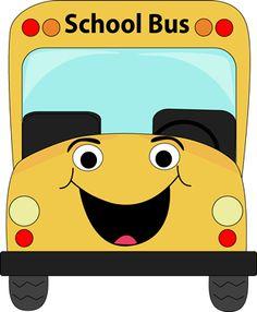 Rylee likes riding the school bus ❤️ School Bus Clipart, Cartoon School Bus, Bus Cartoon, School Bus Driver, Magic School Bus, I School, Back To School, School Bus Crafts, Transportation Theme