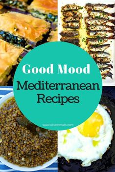 Researchers agree that there is a very strong link between food and mood: try out these 5 Mediterranean dishes for better psychological health! Heart Healthy Recipes, Healthy Dishes, Gourmet Recipes, Healthy Eating, Clean Eating, Eating Vegan, Fodmap Recipes, Rice Recipes, Casserole Recipes