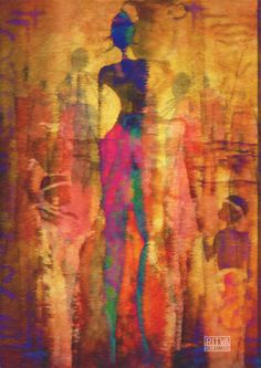 african art2-1 African Art, Art Google, Colorful Interiors, Art Gallery, Photo Collages, Painting, Google Search, Idea Paint, Art Ideas