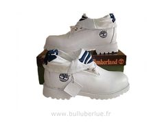 Timberland femme Roll Top Bottes Blanc