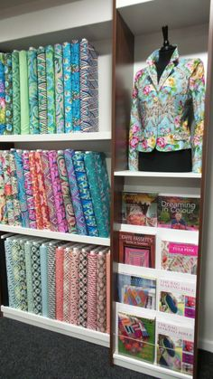 Patchwork & Fabric Room Black Sheep Wools Craft Barn #patchwork #quilting #sewing