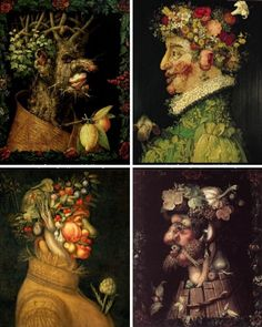 arcimboldo four seasons - Google Search