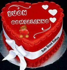 bello auguri compleanno per te Immagine Buon compleanno, #auguri #bello #buon #compleanno #immagine #per #tè Happy Birthday, Birthday Cake, Desserts, Gabriel, Food, Design, Messages, Party, Cards