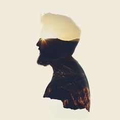silhouette 4 Double Exposure by Taylor Allen Photography