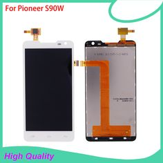 New Brand LCD Display Touch Panel For Pioneer S90W S90 Touch Screen White Color For Prestigio PAP 5044 Mobile Phone LCDs