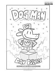 Dog Man Color Pages Google Search In 2020 Coloring Pages For Kids Pokemon Coloring Pages School Coloring Pages