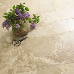 Classic Suede Brushed Travertine