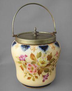 Carlton Ware antique Biscuit Barrel