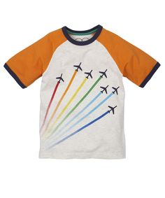 Little Bird By Jools Multi Coloured Planes T-Shirt - t-shirts - Mothercare