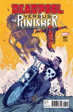 Deadpool Vs. The Punisher vai começar! Veja as primeiras páginas | Notícia | Omelete