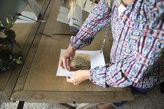 DIY Gold Foil Print » jenny collier blog