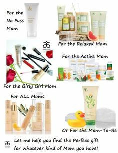 Arbonne Mother's Day Gift Ideas! Visit www.tierracaldwell.arbonne.com for product info! Message me for info about product discounts.