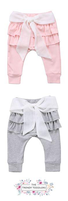 ce6ae9fde 59 Best Girls ruffle pants images | Girls ruffle pants, Kids wear ...