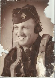 We have here an unknown officer who is a WWII US Army Air Force officer probably in the late 1940s.  This picture was found in the old Perry house on FM 1194 near Lufkin, TX.. Her son was the last to live there, Virgil Pittman. We know it is not Virgil. Anybody have any info or may recognize him?   Those straps appear to be parachute straps.