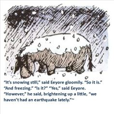 Eeyore - from the Winnie the Pooh book by A. illustration by Ernest Shepard Winnie The Pooh Drawing, Winne The Pooh, Eeyore, Tigger, Eh Shepard, House At Pooh Corner, Christopher Robin, Pooh Bear, Cute Images
