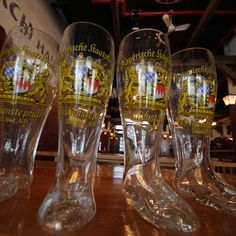 A Brief History of German Beer Boots, and where you can find them