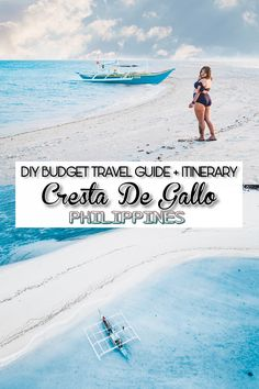 Detailed DIY travel guide + itinerary to Cresta De Gallo, the hidden paradise of Romblon to make planning for your trip an easy peasy. Cheap Travel, Budget Travel, Travel Guide, Jeepney, Batangas, Palawan, Speed Boats, Diy On A Budget, Natural Wonders