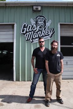 Fast N' Loud (TV show) cast members Richard Rawlings and Aaron Kaufman