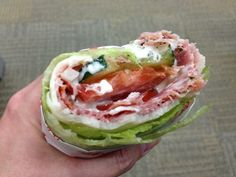 "Low Carb Sub Sandwich ""Unwich""  This would be so good with Tatziki (sp?) sauce"
