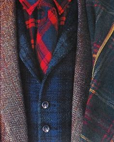 Layers. Textures. Colors. Prints. Fits. Olde English Hunting Inspiration