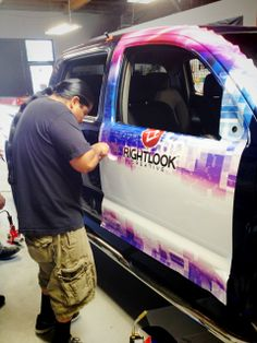 Check out some of the shots from this week's Vehicle Wraps Training Class! Vehicle wrapping continues to be a big trend and skilled installers are always in high demand. #vehiclewraps #rightlook #trainingclass #autodetailing #vehiclegraphics #vehiclewraps