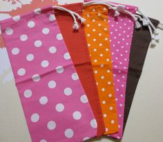 DIY Bags. These would make great wine bags as a hostess gift.