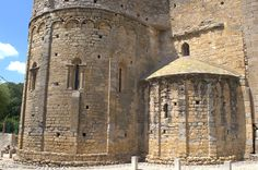 Monasterio de Sant Miquel de Fluvià. Siglos XI-XII. Girona