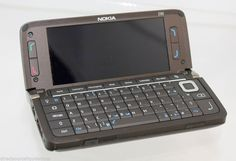 Nokia E Series Communicator - Mocha (Unlocked) Smartphone Nokia E Series, Smartphone, Make Up Your Mind, New Phones, Portable, Screen Protector, Blackberry, Mocha, Laptops