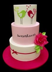@Kathleen DeCosmo ♡♡ #KDC #Fav ♡♡    Such a stunning cake! would make a cute Valentine's cake