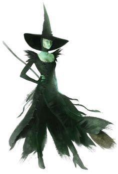 Oz the Great & Powerful Wicked Witch