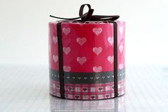 Pretty Japanese Washi Masking Tapes  Thick RED by PrettyTape, $8.50