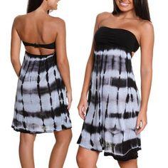 Lost Pacific Palisades Juniors Dress - Sky
