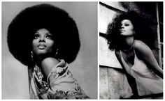 Love the afro Ms. Ross