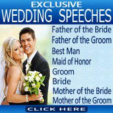 Grooms Speech Format: Order of wedding speeches