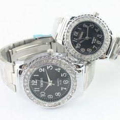 Pretas de liga par relógios de diamantes