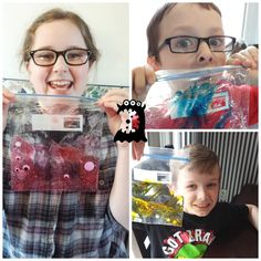 Make a FUN Monster Sensory Bag and Check out some creative Monster Man for Young Learners