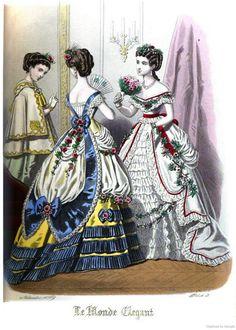 Le Monde Elégant 1869 November