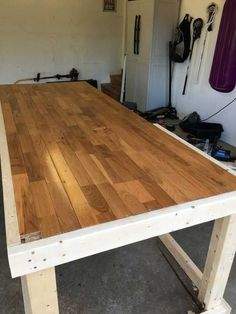 Post with 256943 views. I built a mobile workbench Simple Workbench Plans, Garage Workbench Plans, Table Saw Workbench, Workbench Designs, Mobile Workbench, Folding Workbench, Woodworking Bench Plans, Woodworking Workbench, Woodworking Projects