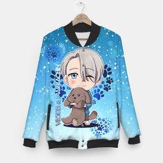 Yuri On Ice Chibi Viktor  Baseball Jacket