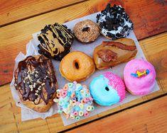 Voodoo Doughnut, Portland, Oregon. Who can tell me where the magic is? ;)